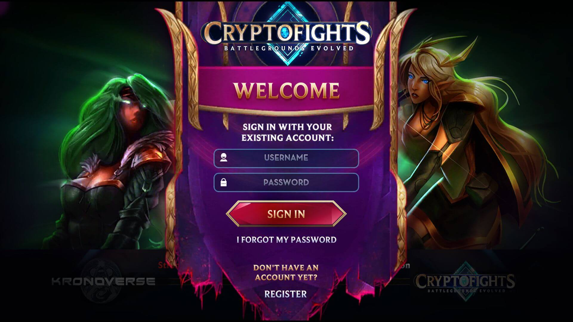 Cryptofights: Battlegrounds Evolved